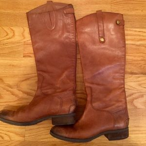 """Sam Edelman """"Penny"""" Leather Riding Boots"""